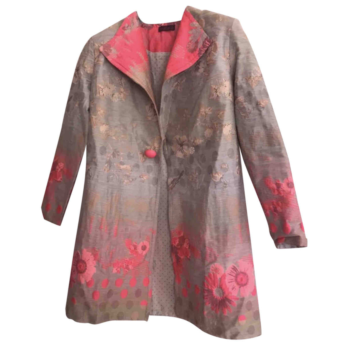 Autre Marque N Multicolour Cotton coat for Women 40 FR
