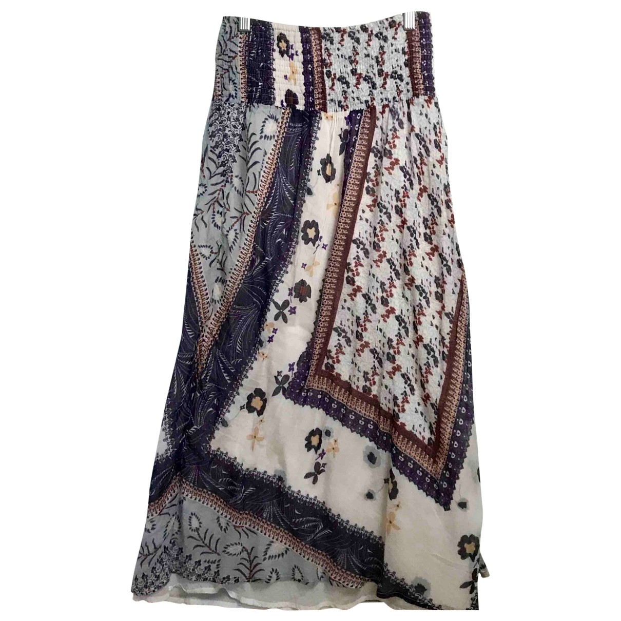 Ba&sh - Jupe   pour femme en coton - multicolore