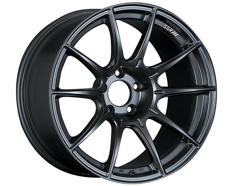 SSR GTX01 Wheel Flat Black 18x7.5 5x100 48mm