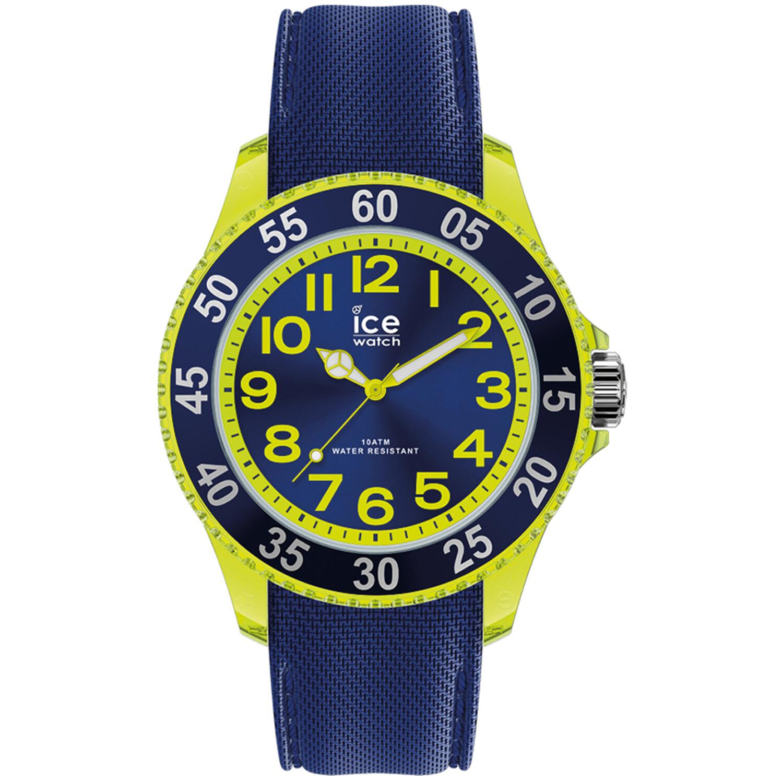 Ice-Watch Cartoon 017734 Blue Silicone Quartz Fashion Watch