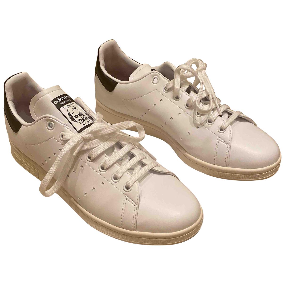 Stella Mccartney Pour Adidas \N Sneakers in  Weiss Leder