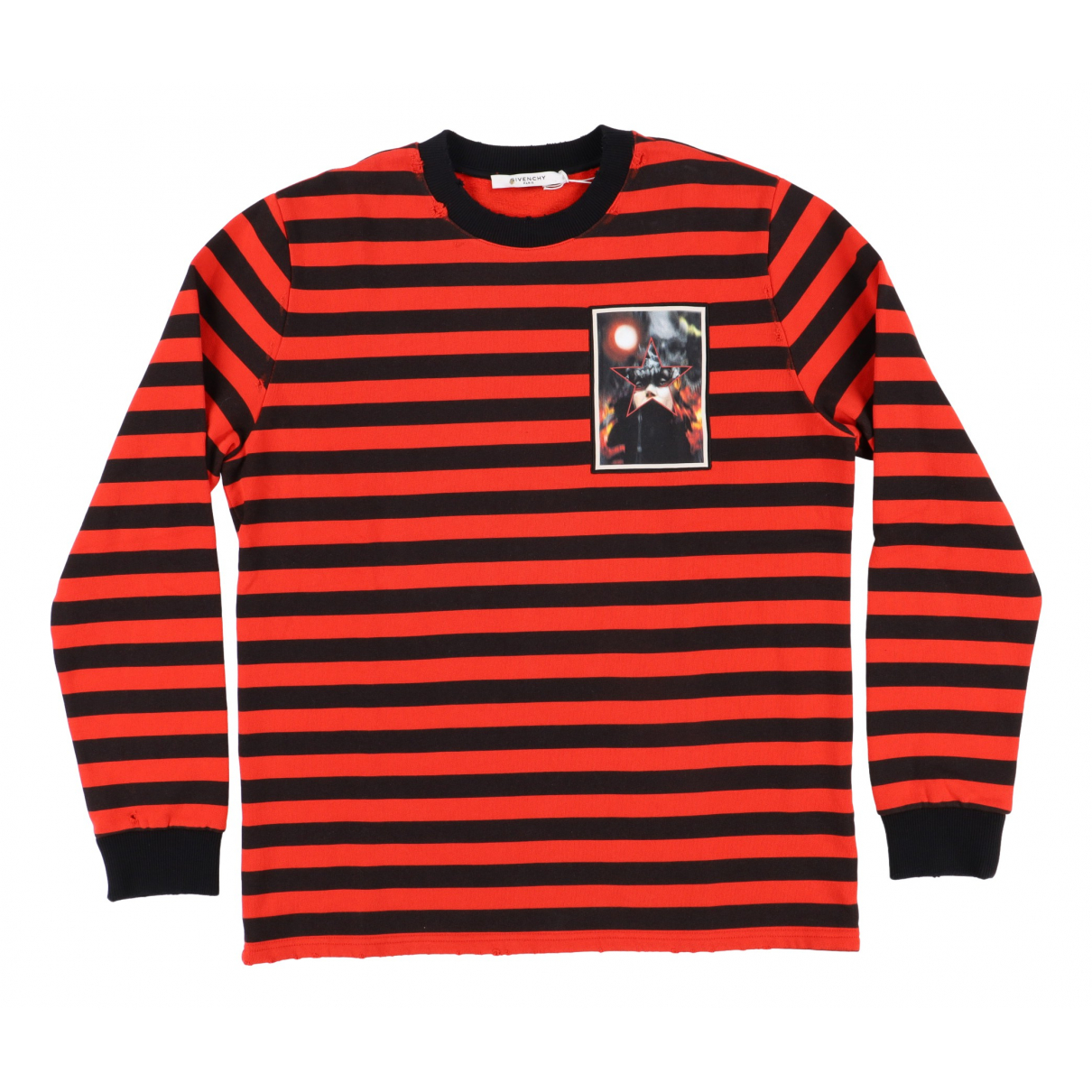 Givenchy \N Pullover.Westen.Sweatshirts  in  Rot Baumwolle
