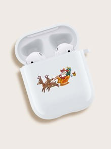 Christmas Santa & Deer Airpods Case
