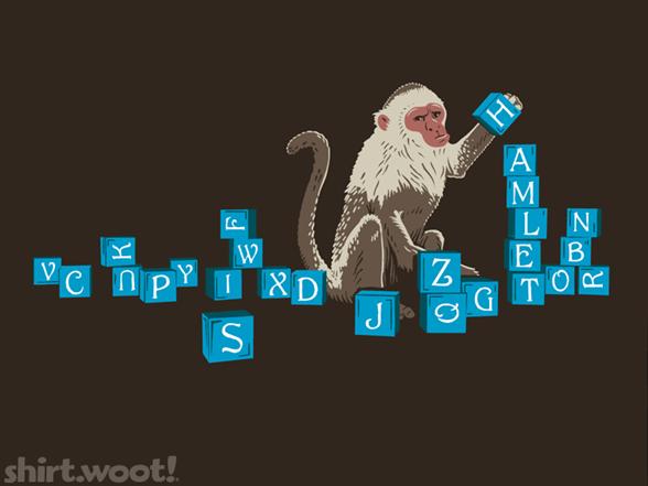 Monkey Play T Shirt