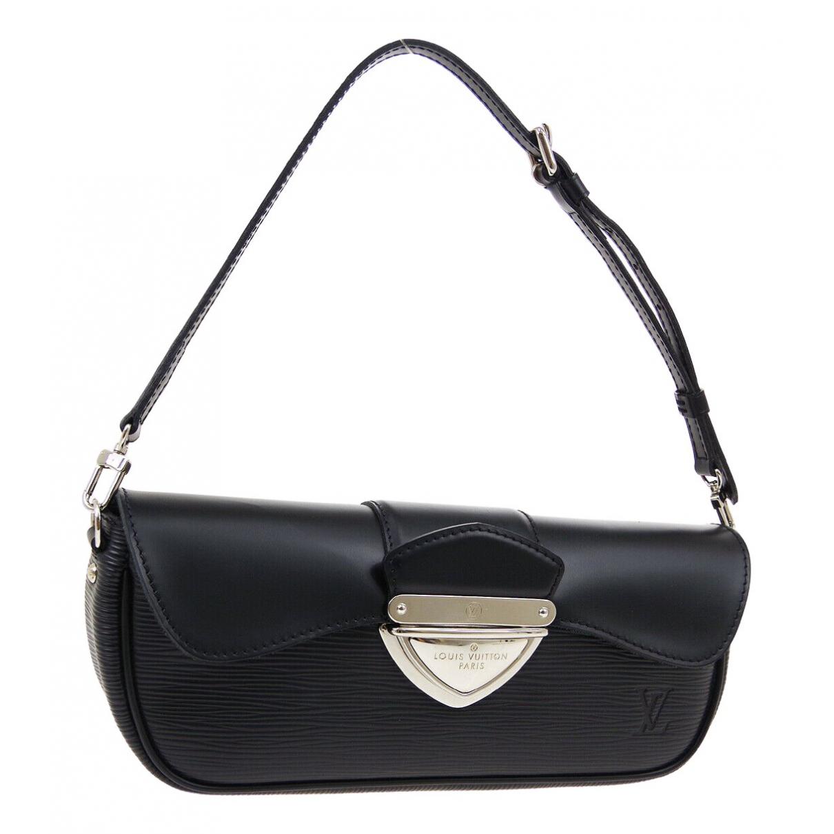 Louis Vuitton - Sac a main Montaigne Vintage  pour femme en cuir