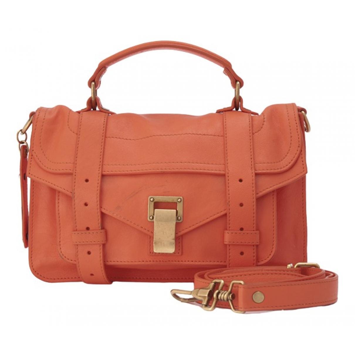 Proenza Schouler PS1 Orange Leather handbag for Women \N