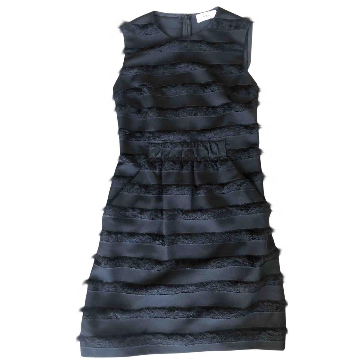 A.l.c \N Kleid in  Schwarz Polyester