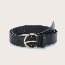 Hollow Out Buckle Belt