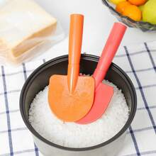 1pc Shovel Shaped Random Color Rice Spoon