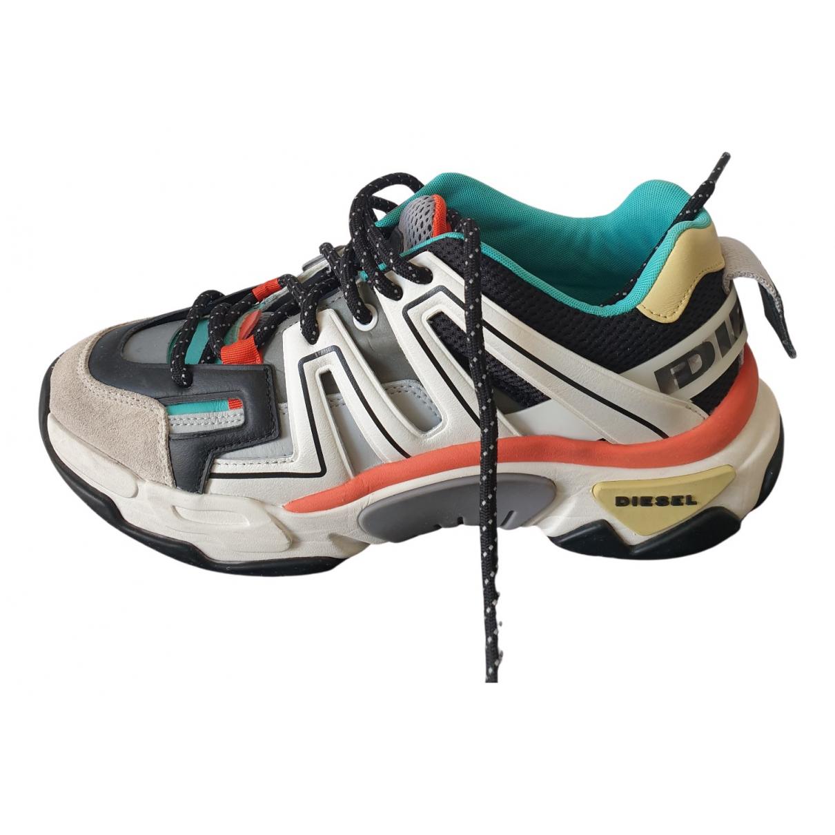 Diesel \N Sneakers in  Bunt Polyester