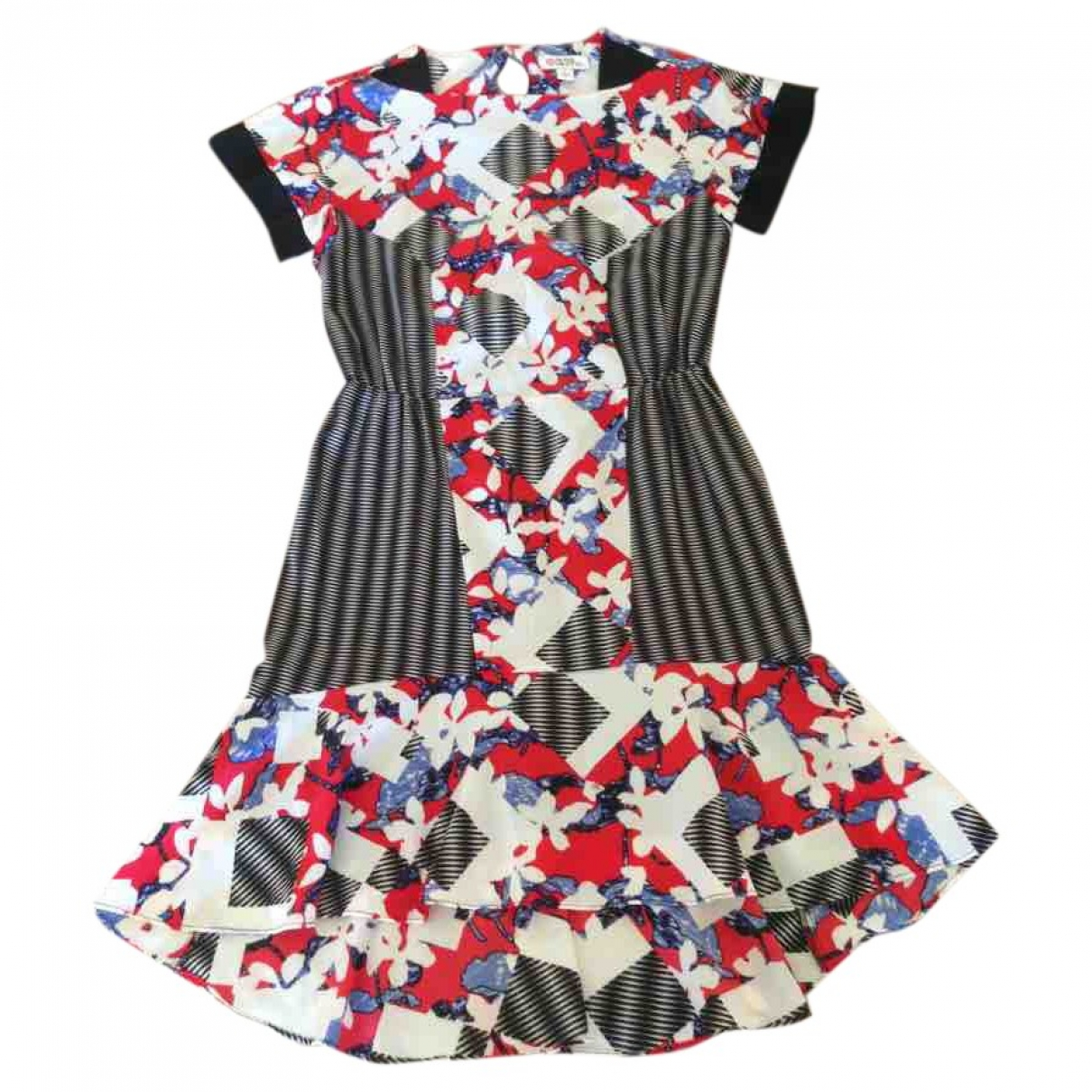 Peter Pilotto \N Kleid in  Bunt Polyester