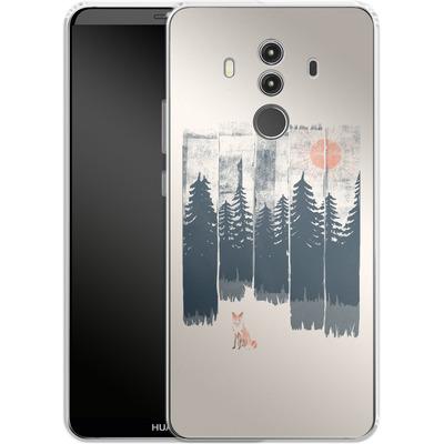 Huawei Mate 10 Pro Silikon Handyhuelle - Fox in the wild von ND Tank