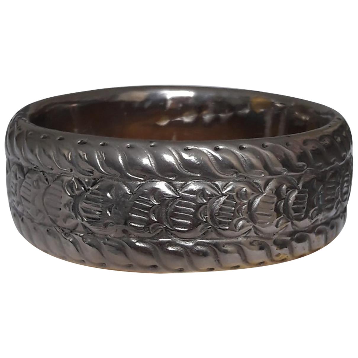 - Bracelet Manchette pour femme en corne - beige