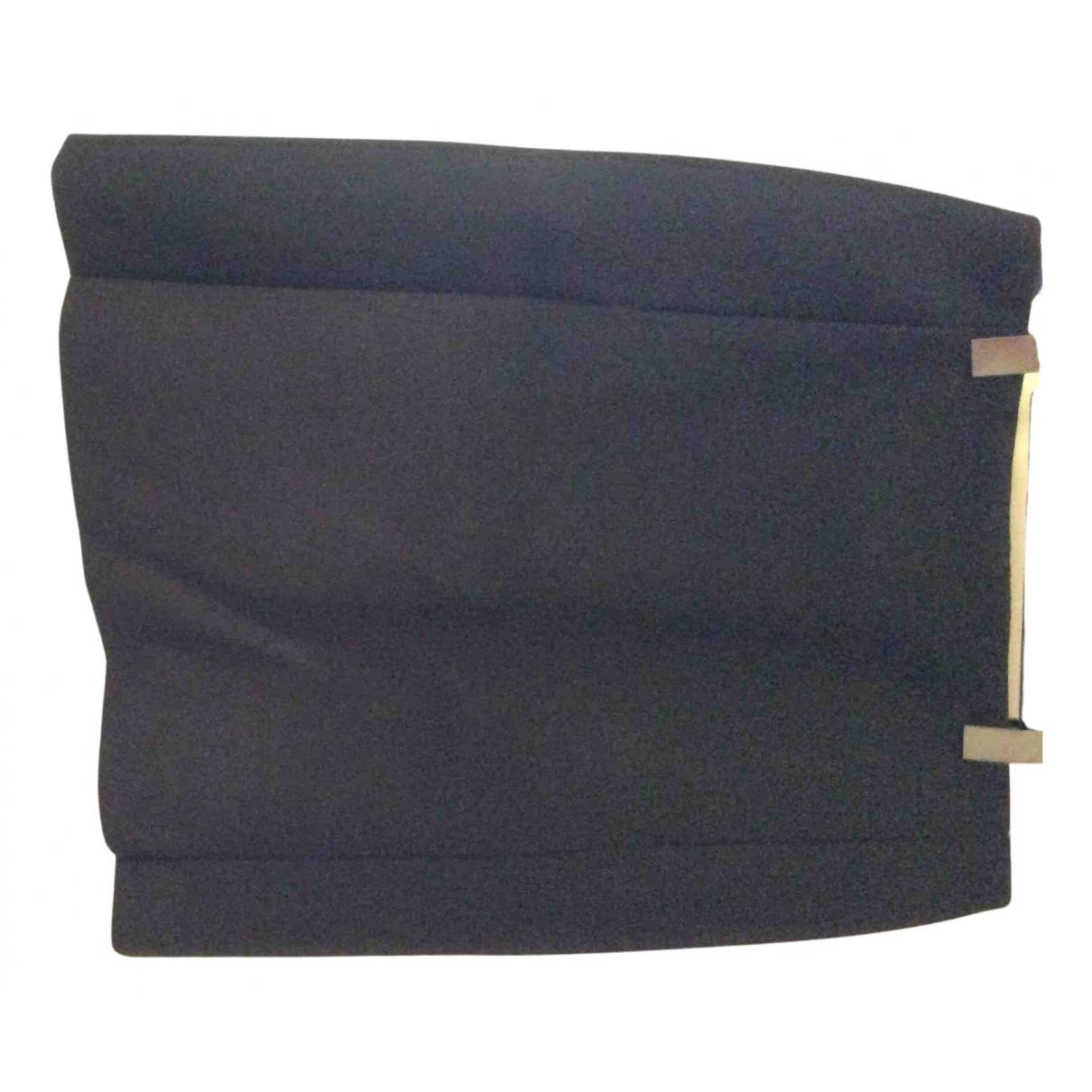 Cos - Jupe   pour femme en laine - noir