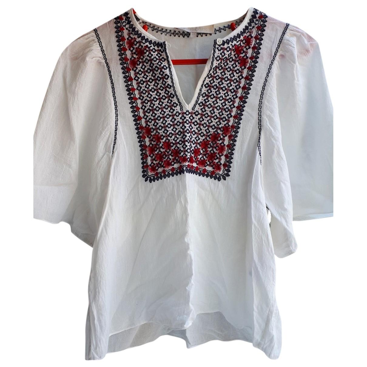 Vanessa Bruno - Top   pour femme en coton - blanc