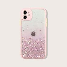 Farbverlauf iPhone Huelle mit Pailletten Dekor