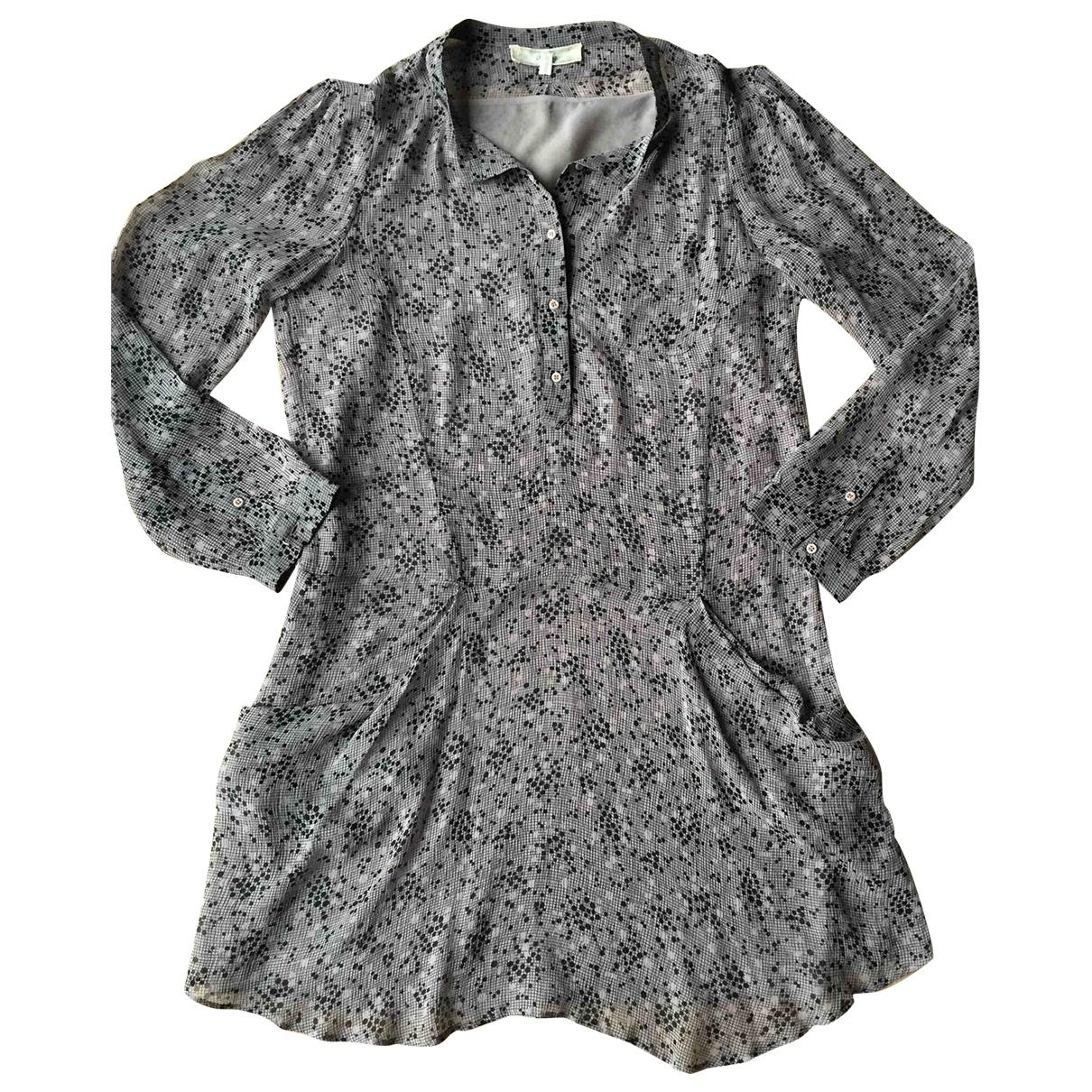 Vanessa Bruno Athe \N Beige Silk dress for Women 40 FR