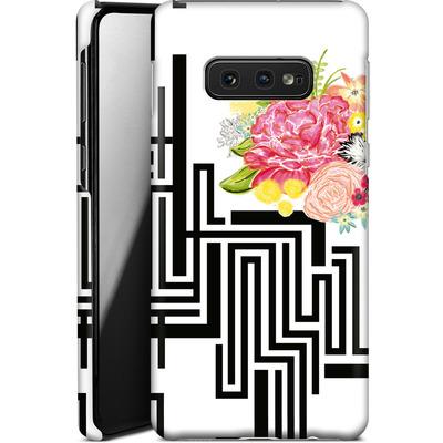 Samsung Galaxy S10e Smartphone Huelle - Michi Garden von Khristian Howell