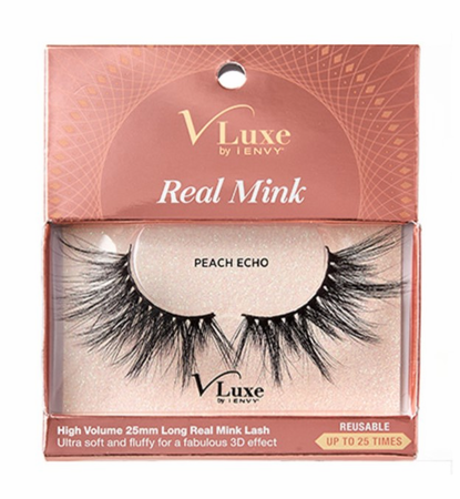 V-Luxe Real Mink u2013 Peach Echo