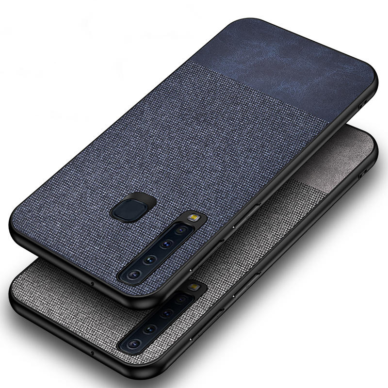 Bakeey Cloth Anti Fingerprint Protective Case For Samsung Galaxy A9 2018