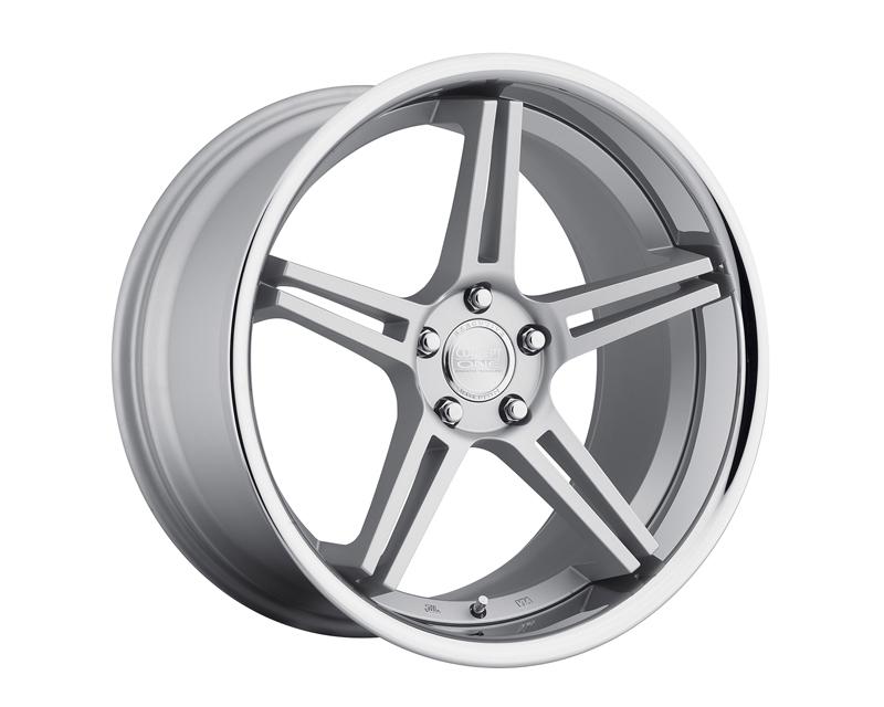 Concept One C743 2010 20 5P CSF RS-55 Silver Wheel 20x10 5x112 20mm