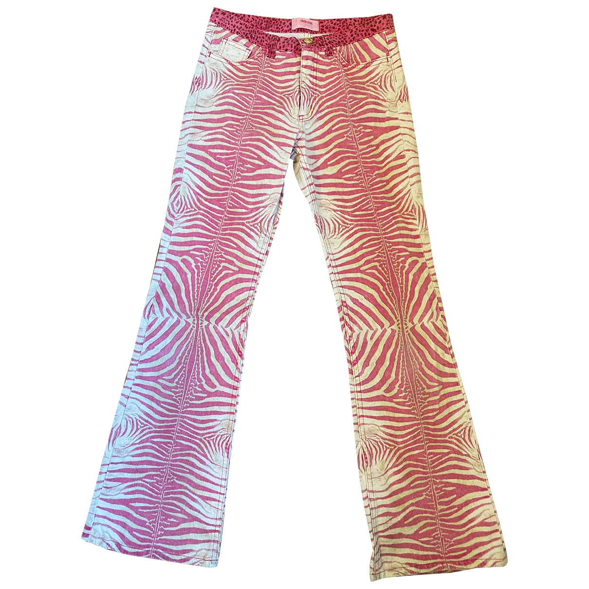 Roberto Cavalli \N Pink Cotton Trousers for Kids 10 years - until 56 inches UK