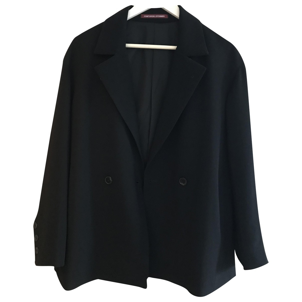 Comptoir Des Cotonniers \N Jacke in  Schwarz Polyester