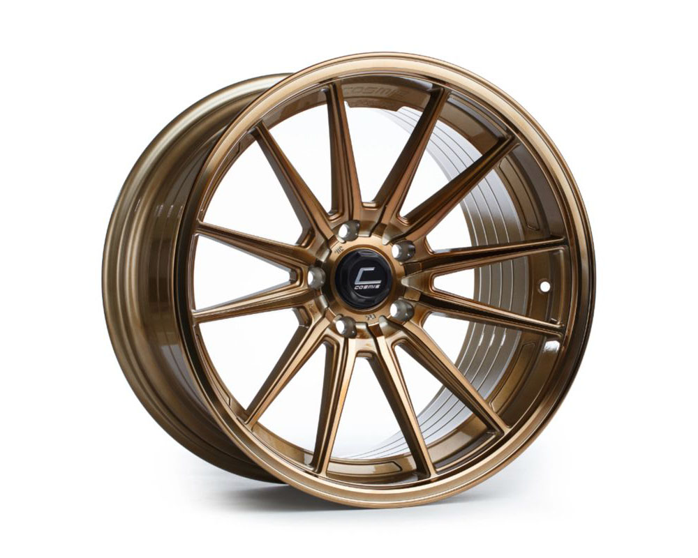 Cosmis Racing R1-1985-35-5x120-HBR R1 Wheel 19x8.5 5x120 +35mm Hyper Bronze