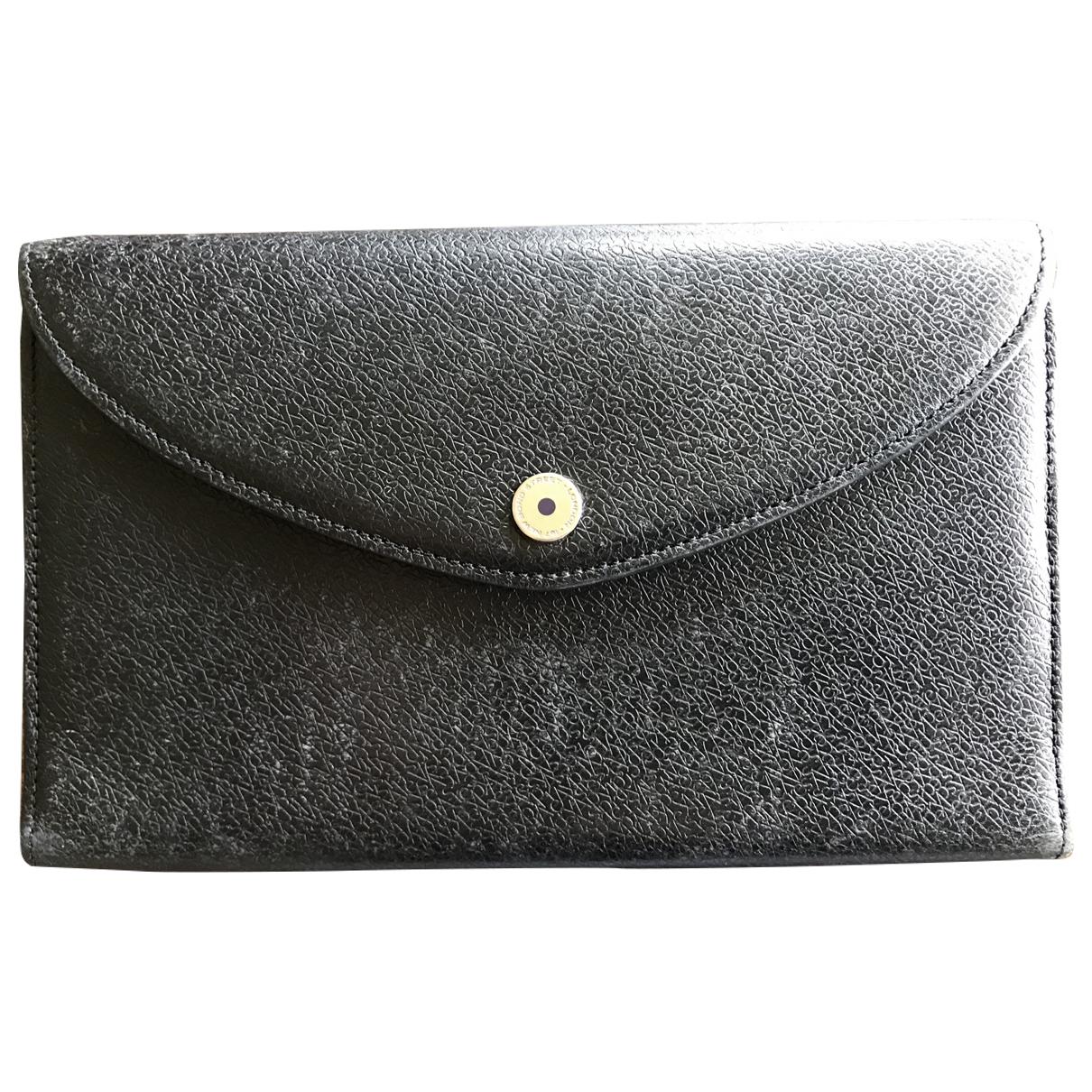 Asprey Of London - Petite maroquinerie   pour femme en cuir - noir