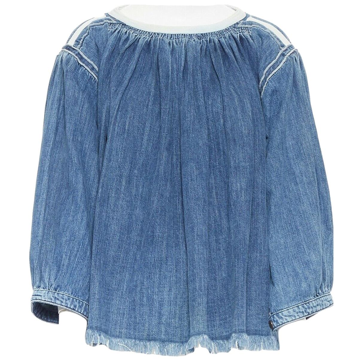 Chloé \N Blue Denim - Jeans  top for Women 36 FR