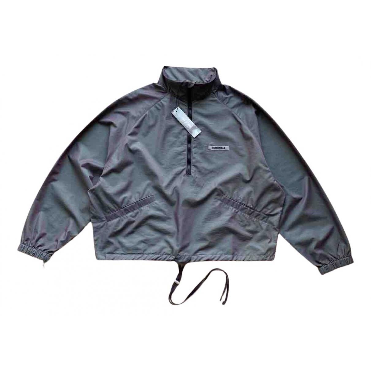 Fear Of God N Blue Leather jacket for Women XS International