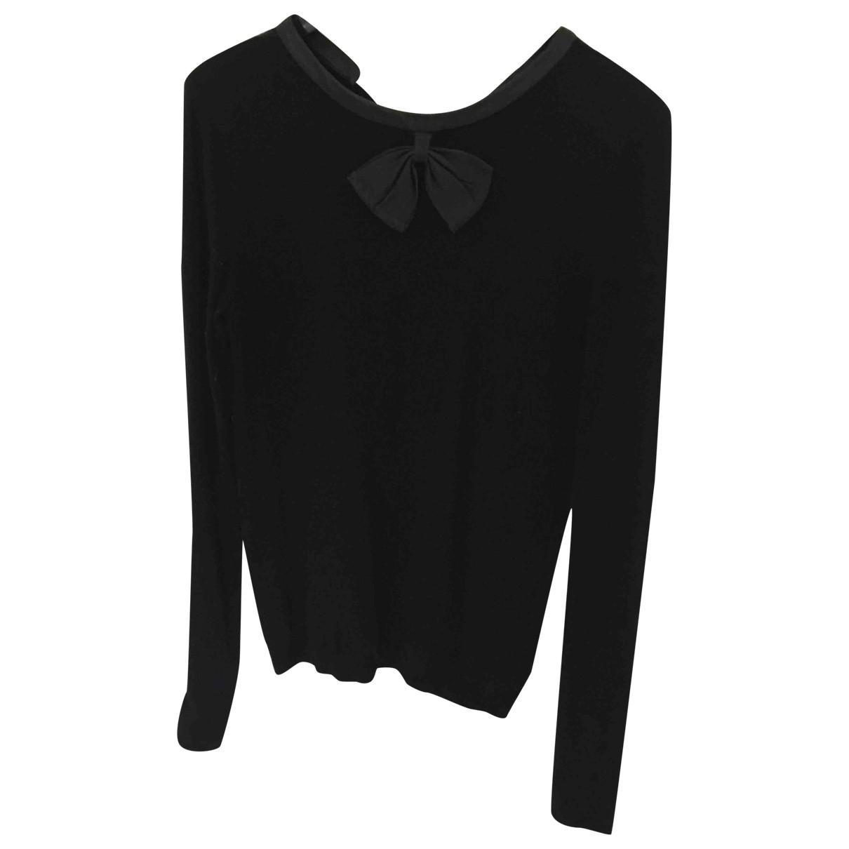 Maje \N Black Wool Knitwear for Women 34 FR