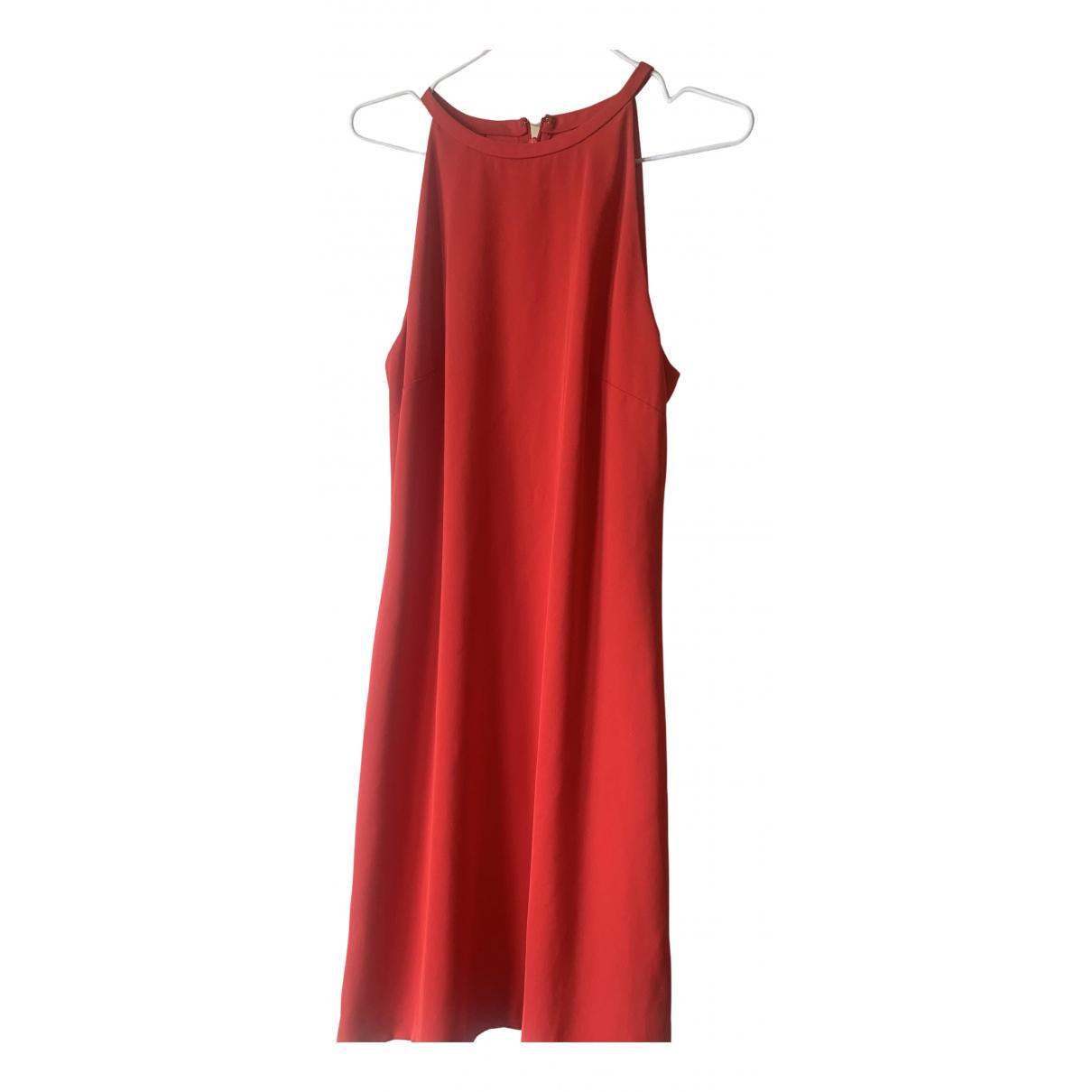 Calvin Klein \N Kleid in  Rot Polyester