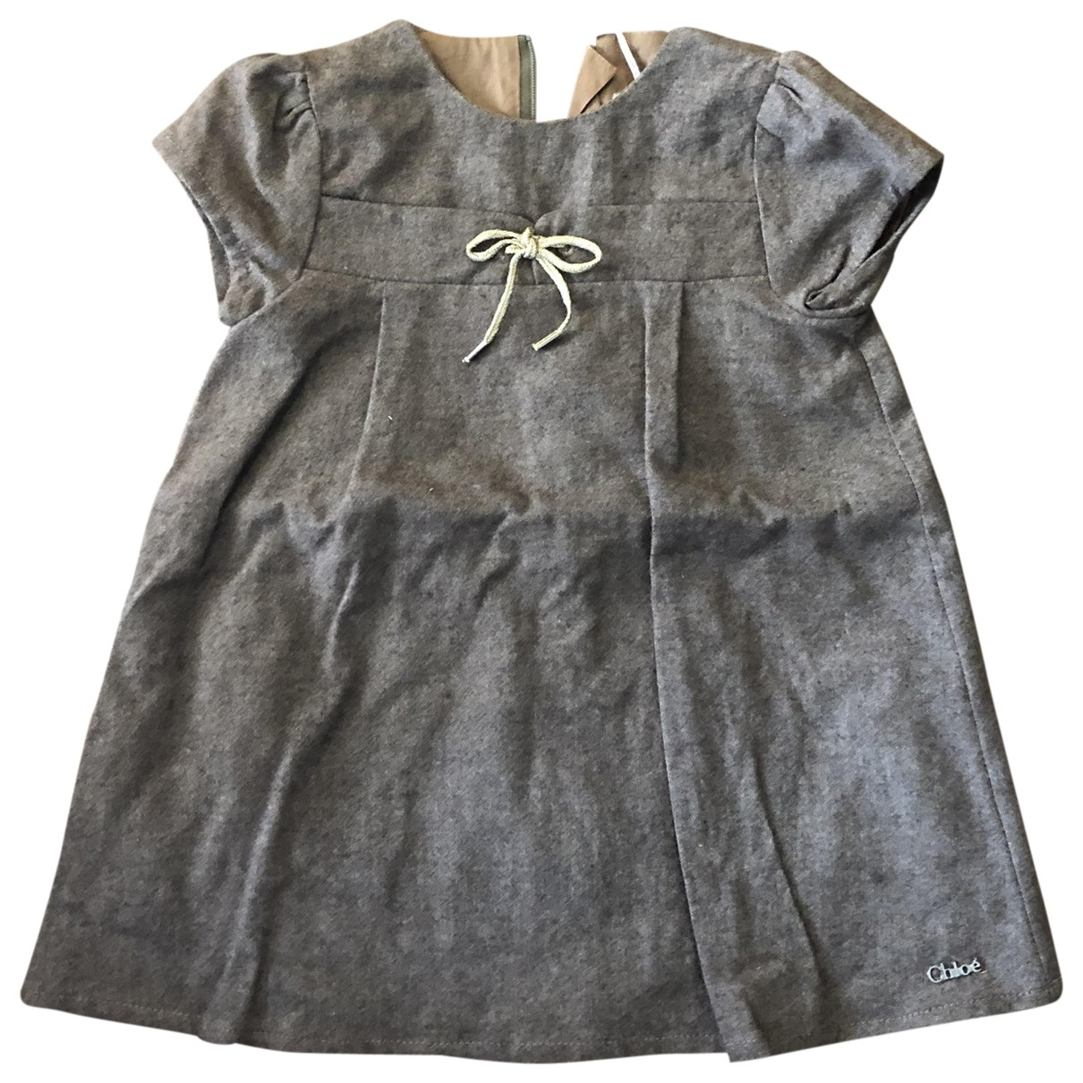 Chloé \N Brown Wool dress for Kids 6 months - up to 67cm FR