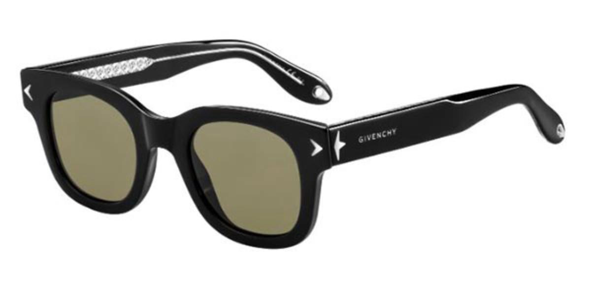 Givenchy GV 7037/S Y6C/E4 Men's Sunglasses Black Size 47