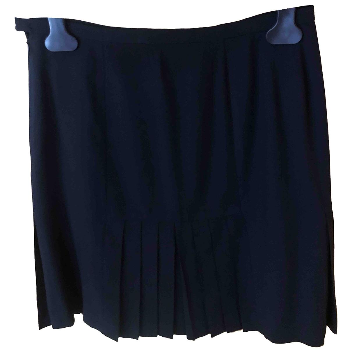 Ermanno Scervino - Jupe   pour femme en laine - noir