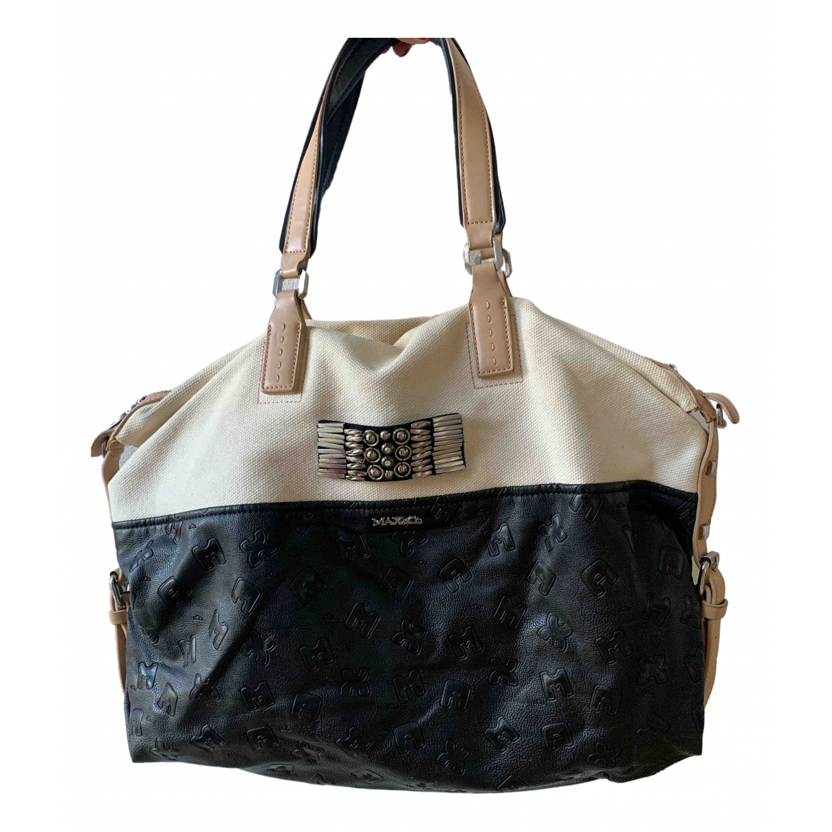 Max & Co \N White Cotton handbag for Women \N