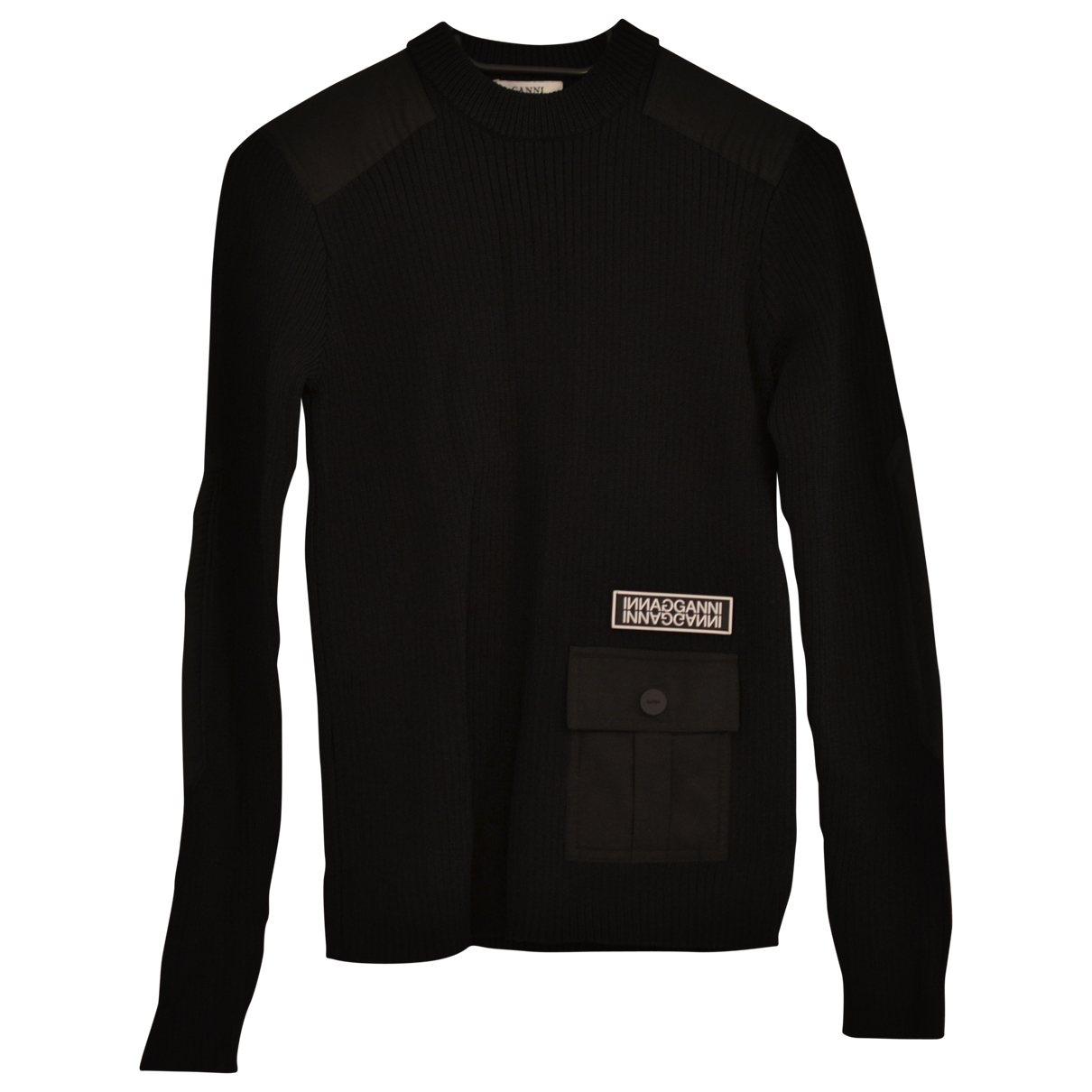 Ganni \N Black Knitwear for Women S International