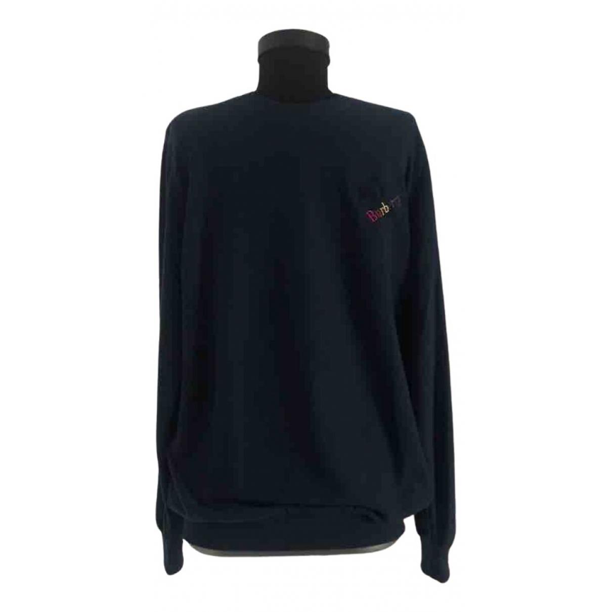 Burberry N Navy Cotton Knitwear & Sweatshirts for Men XL International