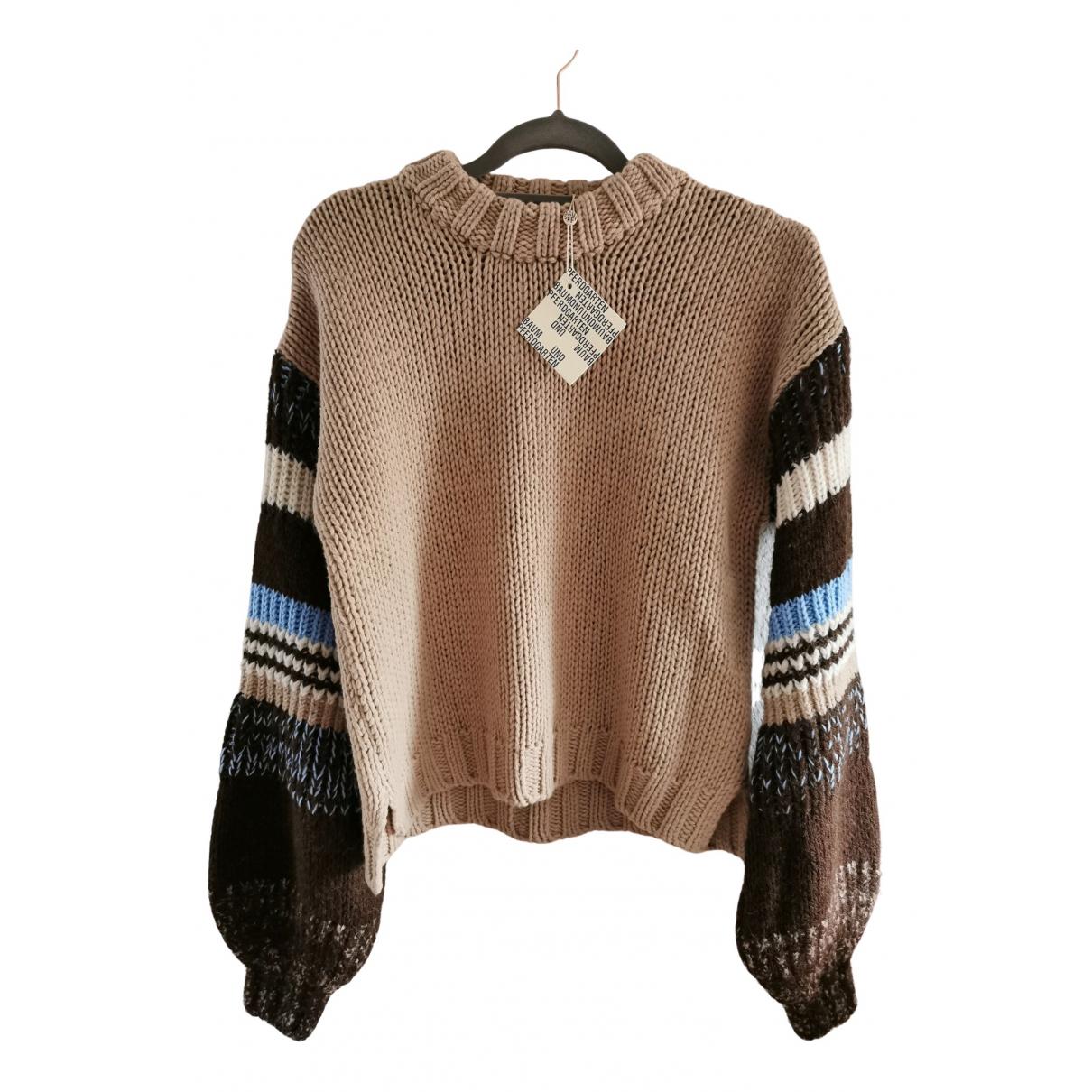 Baum Und Pferdgarten \N Beige Cotton Knitwear for Women 36 FR