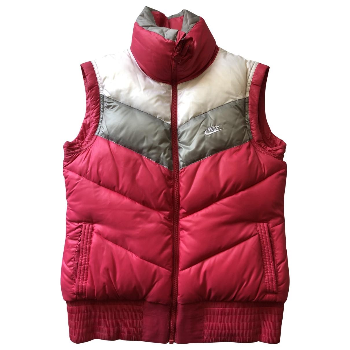 Nike - Blouson   pour femme - rose