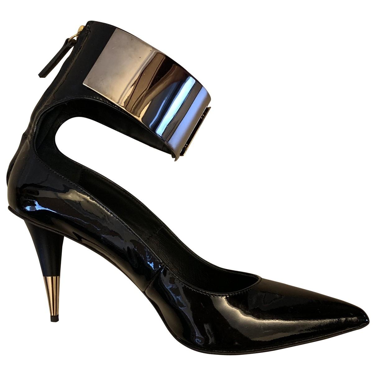 Giuseppe Zanotti - Escarpins   pour femme en cuir verni - noir