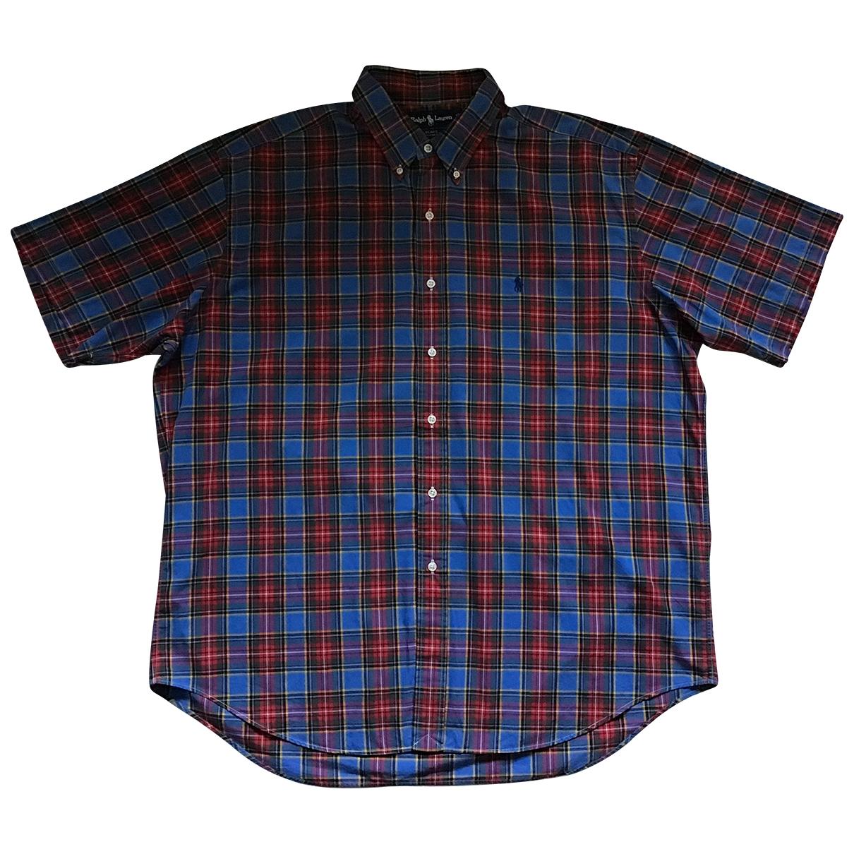 Polo Ralph Lauren \N Multicolour Cotton Shirts for Men XL International