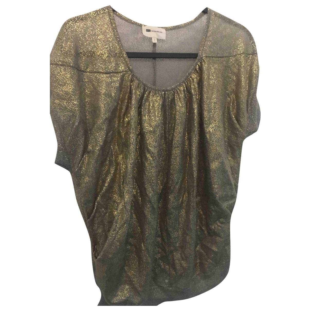 Vanessa Bruno Athe \N Pullover in  Gold Wolle