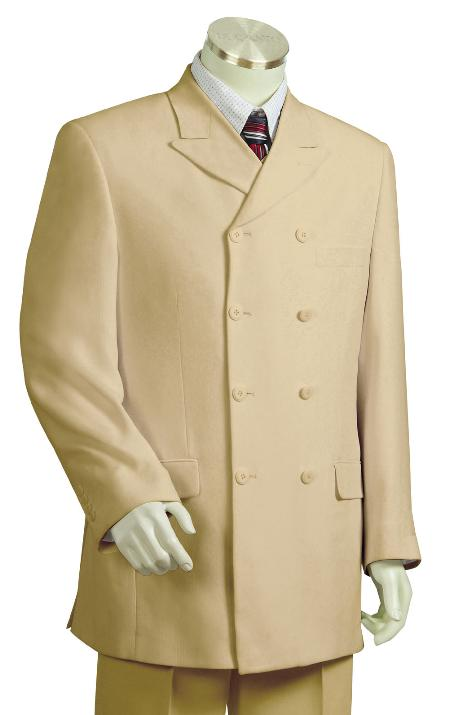 Taupe Zoot Suit Mens