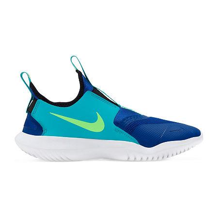 Nike Flex Runner Little Kid/Big Kid Boys Running Shoes, 7 Medium, Blue