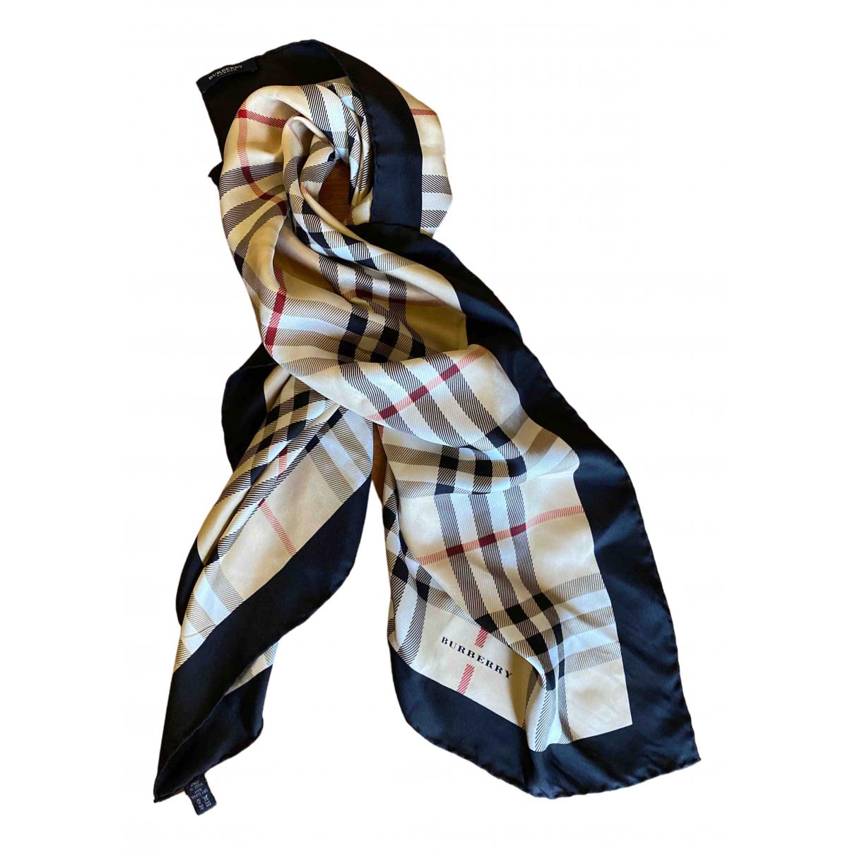 Burberry \N Multicolour Silk Silk handkerchief for Women \N