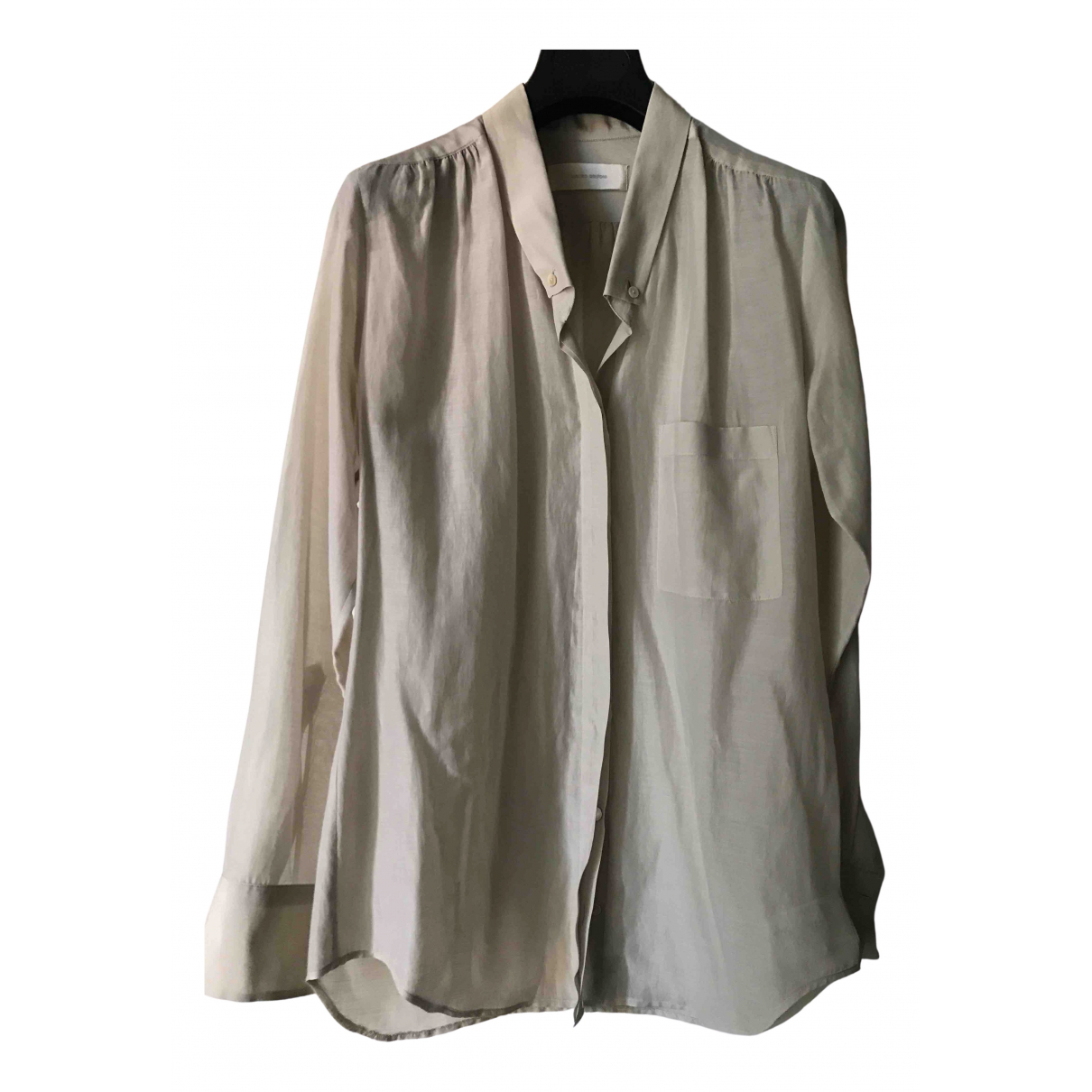 Mauro Grifoni \N Beige Cotton  top for Women 38 IT