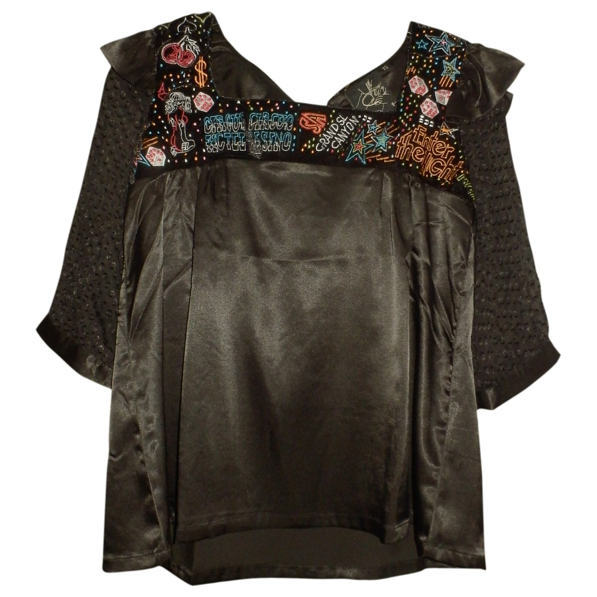 Non Signé / Unsigned \N Black  top for Women XS International