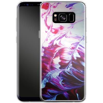 Samsung Galaxy S8 Silikon Handyhuelle - Macro 8 von Gela Behrmann